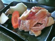 地鶏の京都平日の限定ランチの地鶏